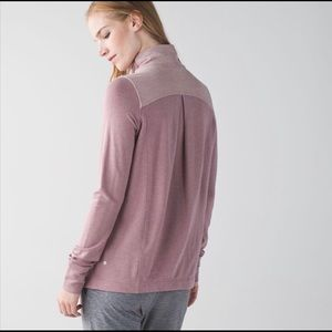 *Lululemon* - Dusty Pink - Wrap Top
